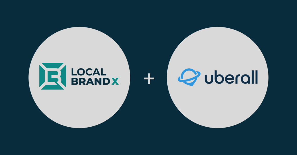 Local Brand X + Uberall = Local & Location Marketing