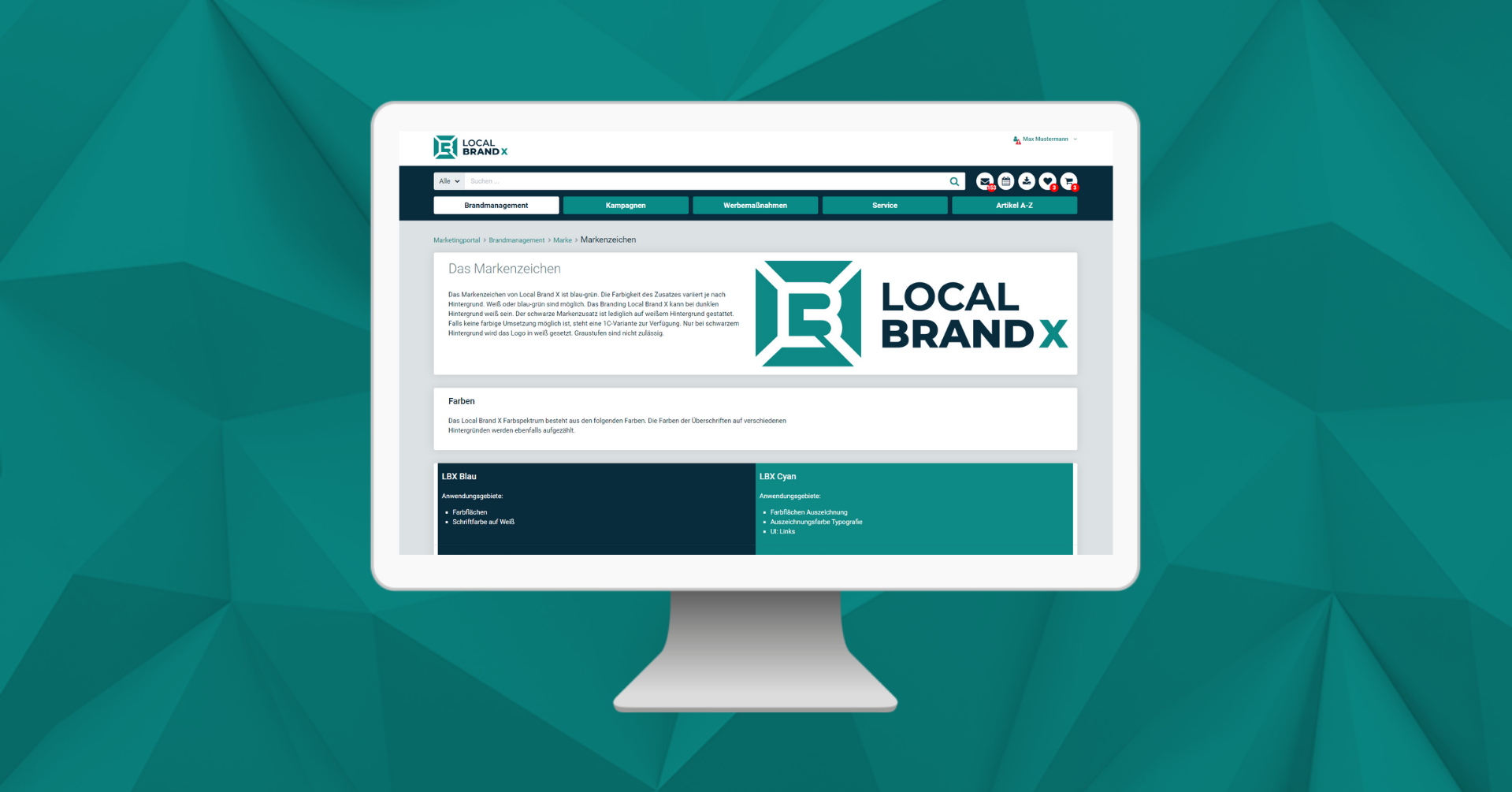 Let your own brand shine with a brand portal
