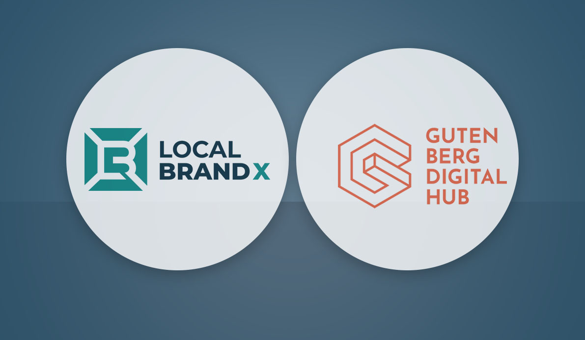 Gutenberg Digital Hub Partnership with Local Brand X Marketing Portal