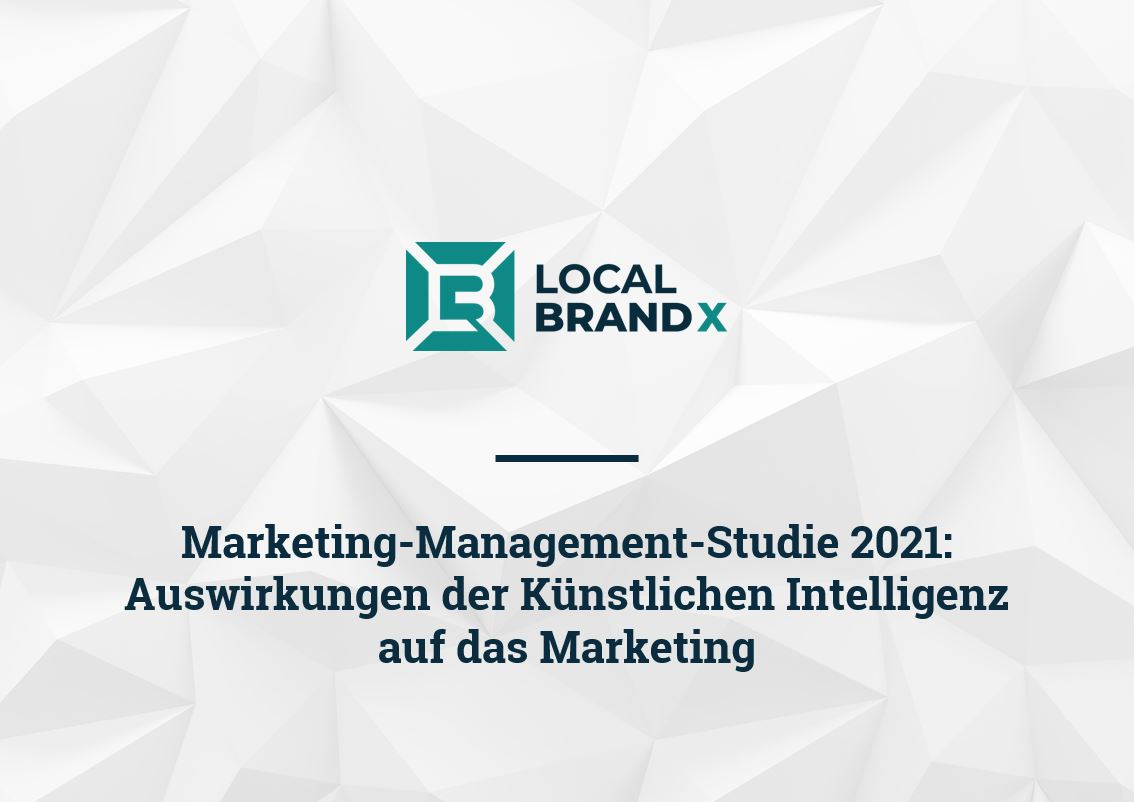 Local Brand X Marketing-Management-Studie 2021