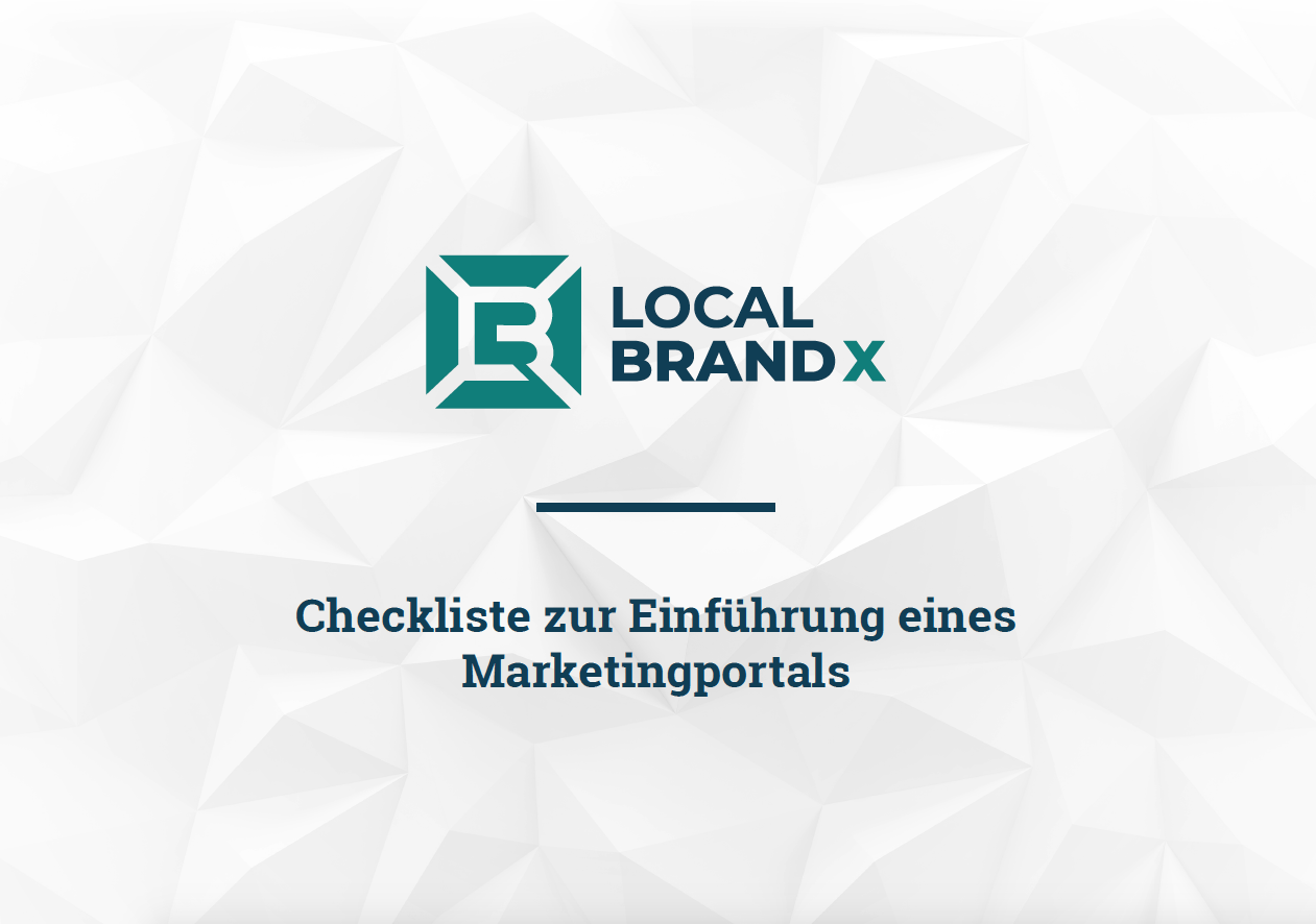 Marketingportal Checkliste