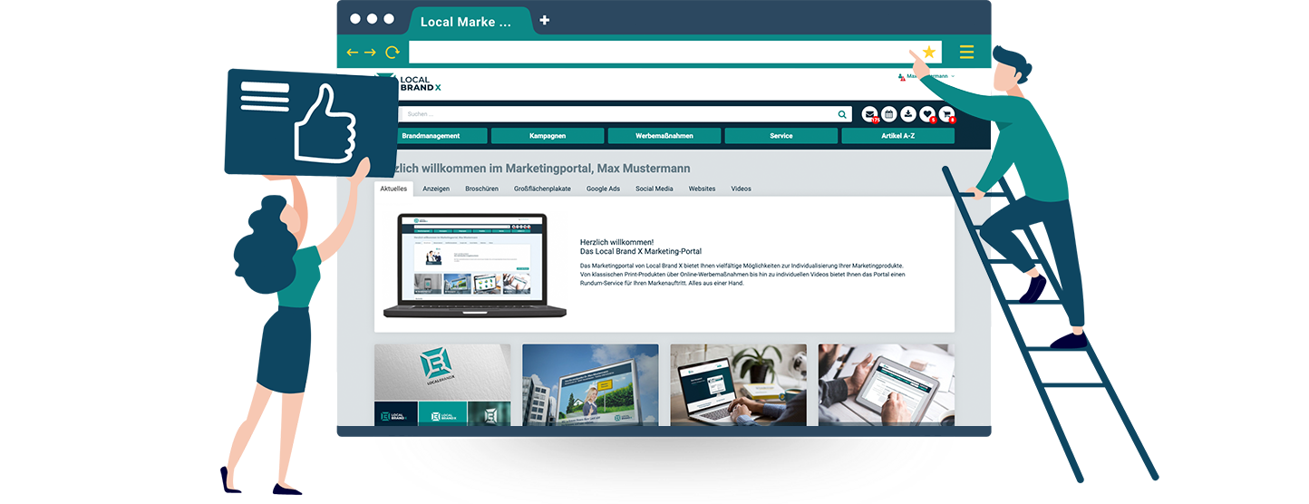 Local Marketing Plattform Kostenlos testen