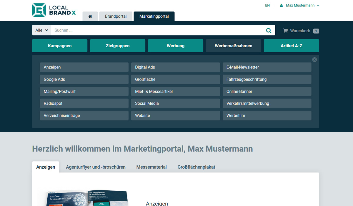 MultiChannel Kommunikation mit dem Marketing-Management-System