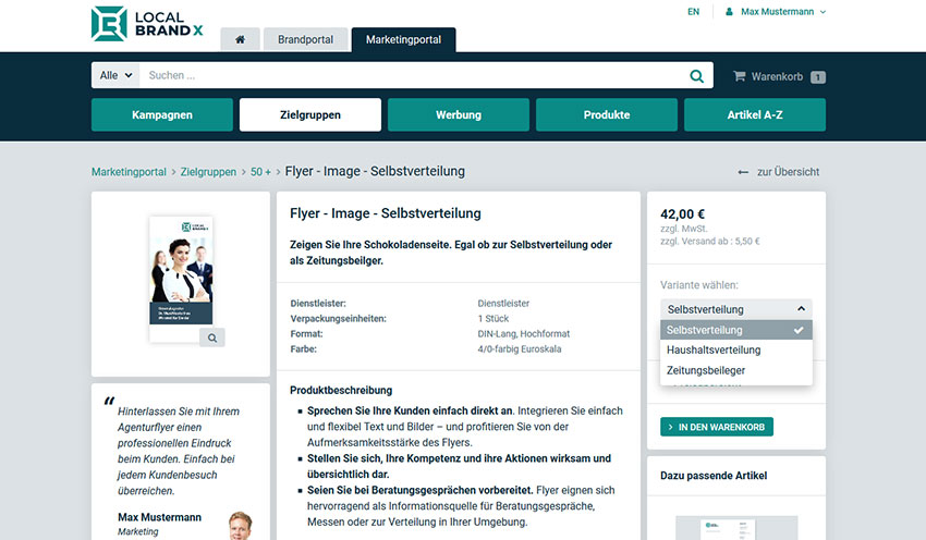 Marketing-Portal Dialogmarketing zur Kundenbindung und -gewinnung