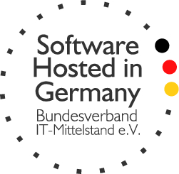 Software hosted in Germany Local Brand X