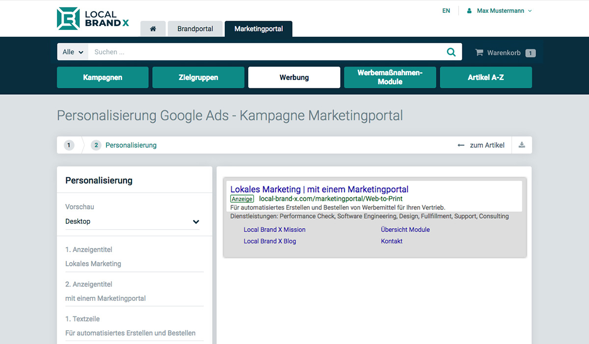 Marketing-Portal Suchmaschinenmarketing