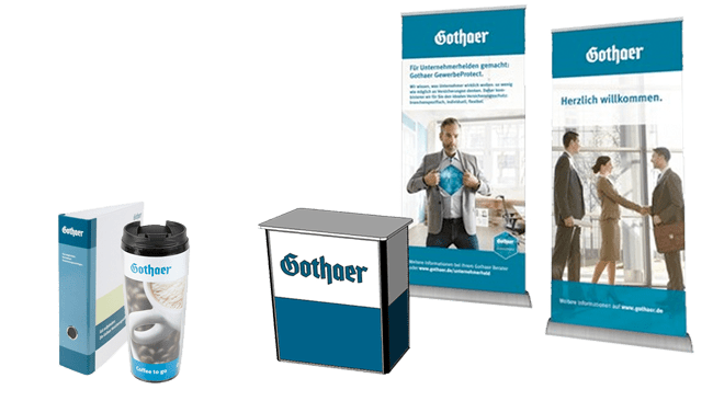 Gothaer Versicherung Marketingportal