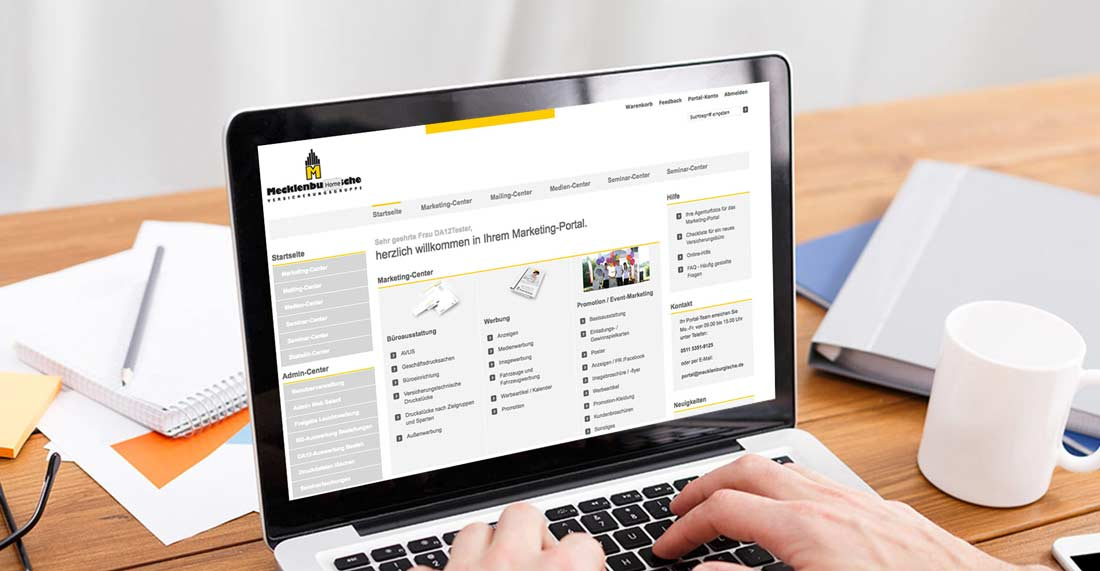 Marketingportal Mecklenburgische Versicherungsgruppe